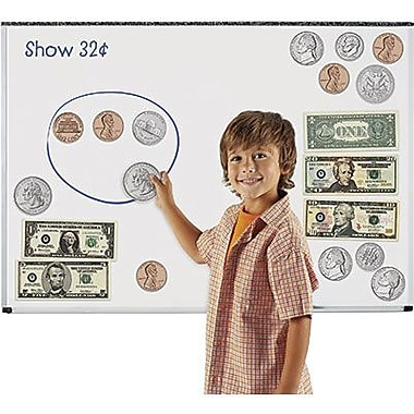 Learning Resources® Double-Sided Magnetic Money Set