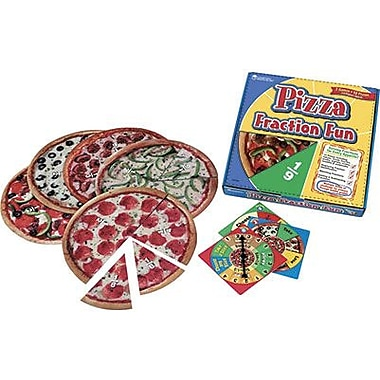 Learning Resources® Pizza Fraction Fun Game