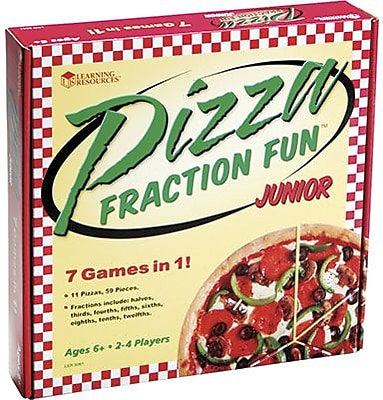 Learning Resources® Pizza Fraction Fun Jr Game (LER5061)