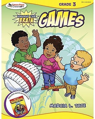 Corwin Engage The Brain Activity Games Book, Grades 3rd