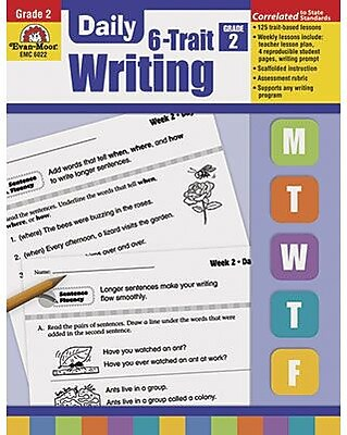 Daily 6 Trait Writing, Grade 2