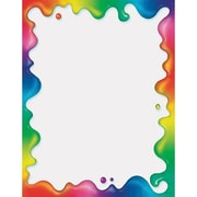 "Trend Enterprises® 11"" x 8 1/2"" Terrific Paper, Rainbow Gel"