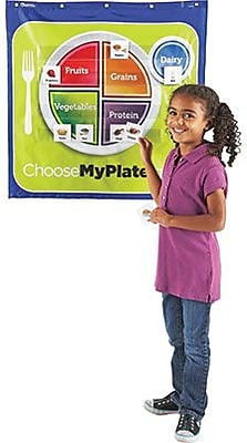Learning Resources® Healthy Helping, My Plate Pocket Chart