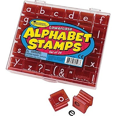Learning Resources® Stamp Set, Lowercase Alphabet