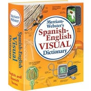 Merriam-Webster® Spanish English Visual Dictionary, Flexible Paperback