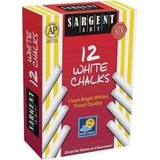 "Sargent Art 31/4"" Dustless School Chalk, White, 288/Pack (SAR662012)"