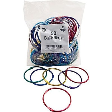 Hygloss Book Ring Pack, 2