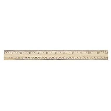 Westcott® English and Metric School Ruler, 12