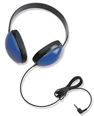 Califone Listening First Stereo On-Ear Headphone, Blue (CAF2800BL)