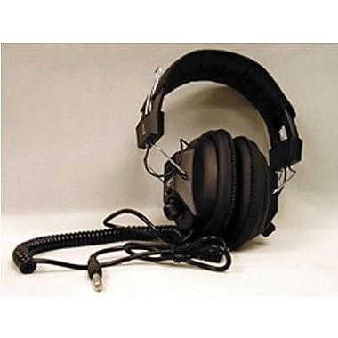 Califone Caf3068av Switchable Stereo/mono Headphone, Black