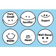 Center Enterprises Grading Stamp, Smile Faces (CE-601)