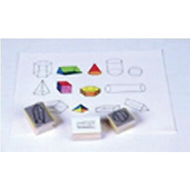 Center Enterprises® Stamp Set, Three Dimensional Geometric