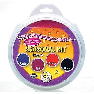 Center Enterprises - Tampon encreur/à peinture lavable circulaire, 6 po, trousse saisonnière