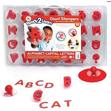 Center Enterprises® Ready2learn Giant Stamper, Alphabet Letters Uppercase