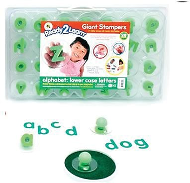 Ready2Learn™ Giant Stampers, Alphabet Letters Lowercase, 28/pkg