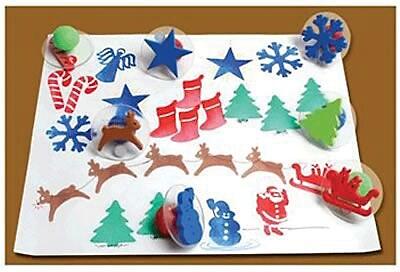 Center Enterprises® Ready2Learn™ Giant Stamper, Christmas
