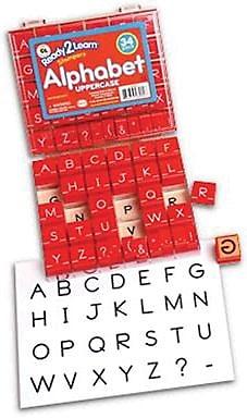 Center Enterprises® Stampers, Manuscript Alphabet Uppercase