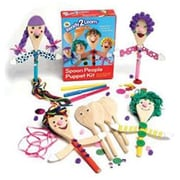 Center Enterprises Ready2learn Craft Kit, Spoon People Puppet, 38/Pack (CE-6901)