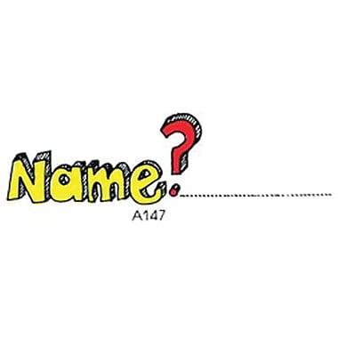 Center Enterprises® Sweet-Arts Artistic Rubber Stamp, Name?