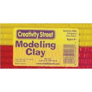 Chenille Craft Extruded Modeling Clay, 6 Assorted Colours, 36/Pack (CK-4080)