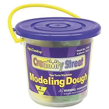 Chenille Craft® Modeling Dough, 4 Colors