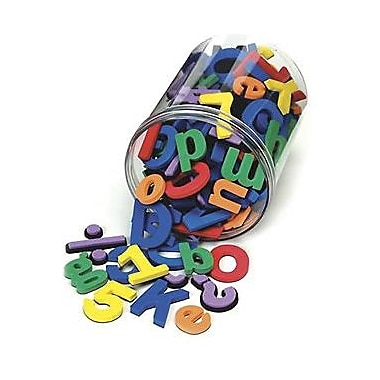 Chenille Craft Letters And Numbers, Magnetic Foam, 210/Pack (CK-4357)