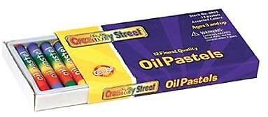 Chenille Craft® Regular Oil Pastel, Assorted, 12/Pack
