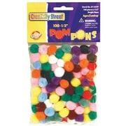 Chenille Craft – Pompons, teintes vives, 2400/paquet (CK-811401)