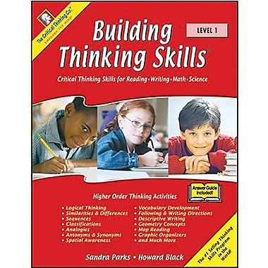 Critical Thinking Press Level 1 Building Thinking Skills Book, Grades 2nd - 3rd