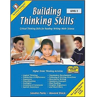 Critical Thinking Press Level 2 Building Thinking Skills Book, Grades 4th - 6th