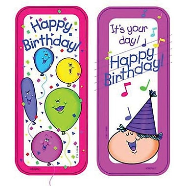 Creative Teaching Press Happy Birthday Bookmark, Grades pre-school - 6th