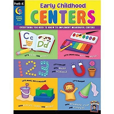 Creative Teaching Press Early Childhood Centers Resource Book, Grade pre-kindergarten-Kindergarten (CTP1036)