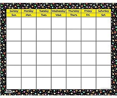 Poppin' Patterns Large Calendar Chart, 2/Bd