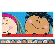 Creative Teaching Press pre-school-12th Grades Straight Bulletin Board Border, Smiling Stick Kid's®