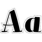 Black Spumoni Font Uppercase Letters