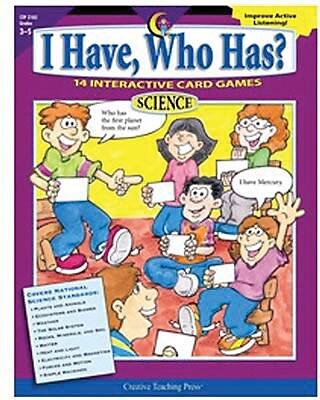 I Have, Who Has? Science, Grades 3-5