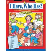 I Have, Who Has? Language Arts, Grades 5-6