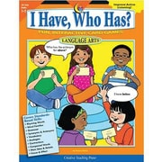 Creative Teaching Press™ I Have, Who Has? Language Arts, Grades 1st - 2nd