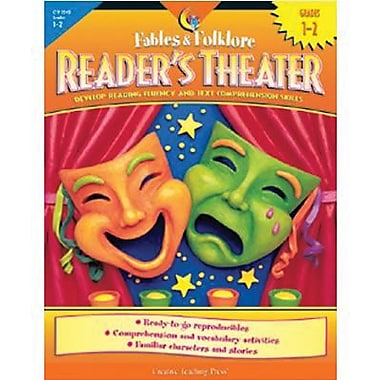 Creative Teaching Press - Livre Fables and Folklore Reader's Theater, 1re et 2e année (CTP2242)