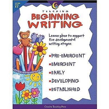 Creative Teaching Press Teaching Beginning Writing Book