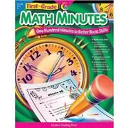 Creative Teaching Press Math Minutes Book, Grades 1st