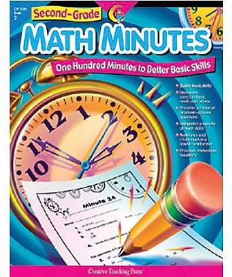 Second-Grade Math Minutes Resource Book