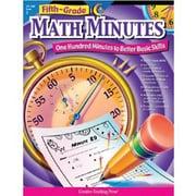 Creative Teaching Press Math Minutes Book, Grades 5th