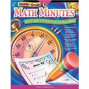 Creative Teaching Press Math Minutes Book, Middle Grades