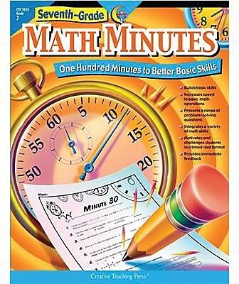 Seventh-Grade Math Minutes Resource Book
