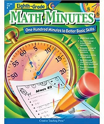 Eighth-Grade Math Minutes Resource Book