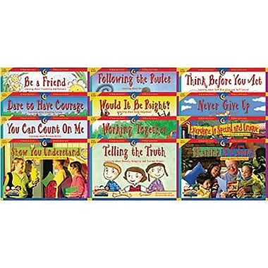Creative Teaching Press, Character Education Readers Variety Pack, Grades Kindergarten - 3rd