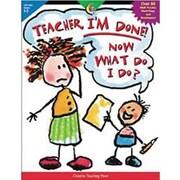 Creative Teaching Press™ Teacher, I'm Done! Now What Do I Do? Activity Book, Grades 1st - 2nd