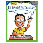 Creative Teaching Press™ More I'm Through! What Can I Do? Book, Grades 2nd