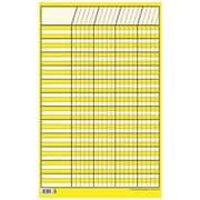 Creative Teaching Press™ Small Vertical Incentive Chart, Yellow